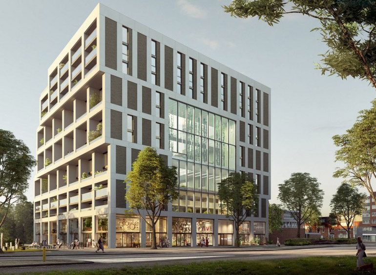 project De Overtoomse Loft amsterdam