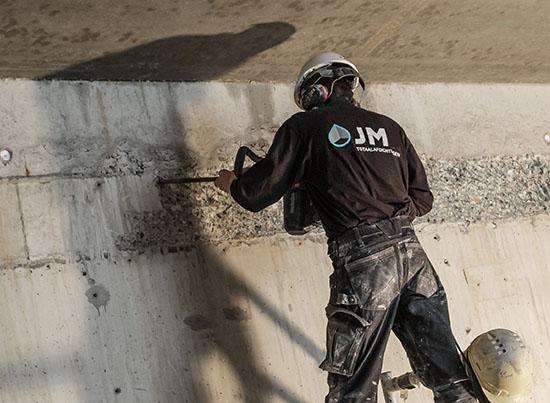 beton reparatie door JM Totaalafdichtingen