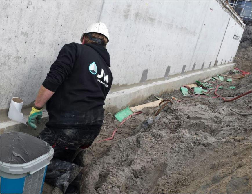 JM Totaalafdichtingen medewerker in de bouw