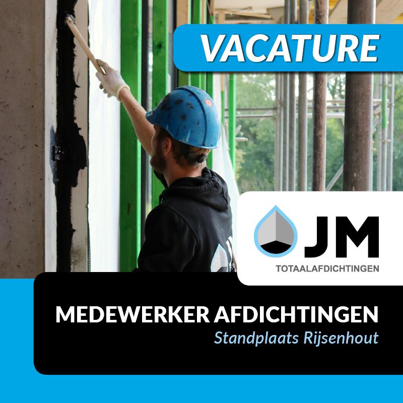 vacature medewerker afdichtingen is een van de vacatures bij JM Totaalafdichtingen