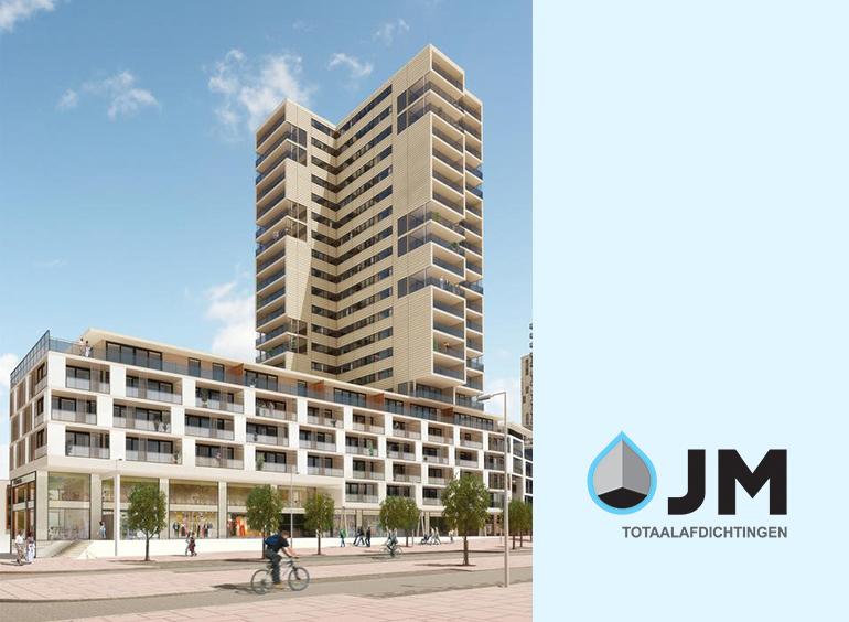 JM Totaalafdichtingen project Nesselande in Rotterdam