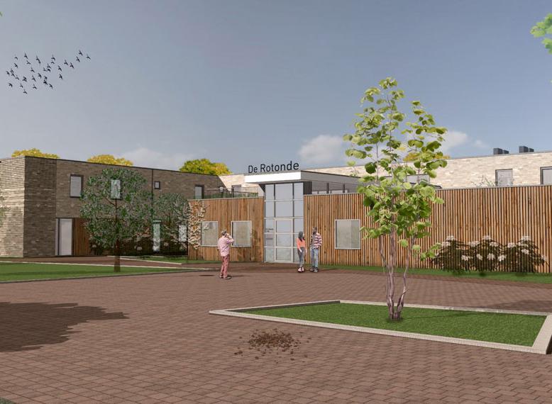 project in Heerhugowaard zorgcomplex de rotonde