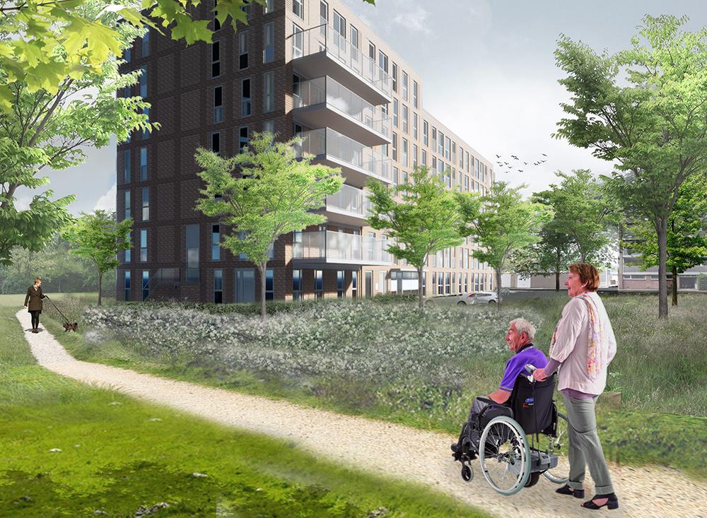Utrecht Tuindorp Oost is een van de JM projecten opdrachtgever Lithos